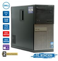Dell OptiPlex 990 i5/ 8GB DDR3/ 480GB SSD/ 500GB HDD/ Windows 10 PRO MAR