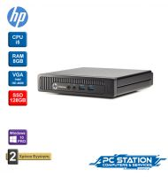 REFURBISHED HP ELITEDESK 800 G1 DESKTOP MINI DM INTEL CORE I5 4590T 2.00GHZ 6MB 8GB RAM 128GB SSD WINDOWS 10 PRO MAR